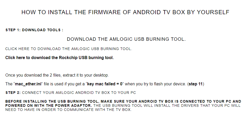 Amlogic Usb Burning Tool For Mac - takeoffmanage's blog